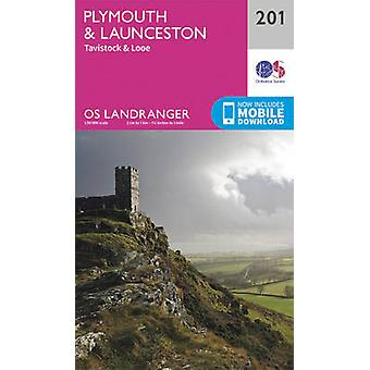 Plymouth & Launceston - Tavistock & Looe (February 2016 ed) by Ordnan