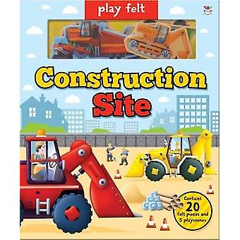 Play Felt Construction Site by Oakley Graham - 9781787004344 Book