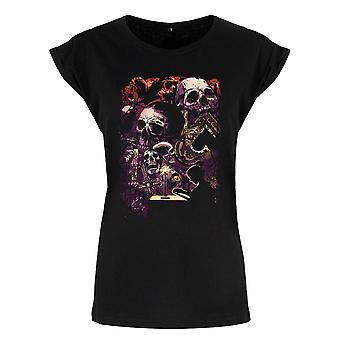 Grindstore Ladies/naisten pahaenteiset Apparitions Premium T-paita
