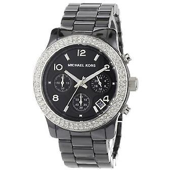 Michael Kors Ladies Ceramic Chronograph Watch Mk5190