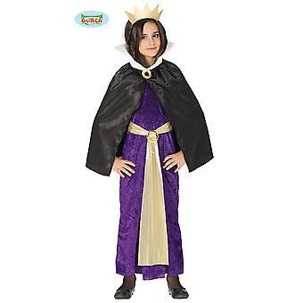 Guirca Evil Queen mörkare linjal Halloween flicka kostym