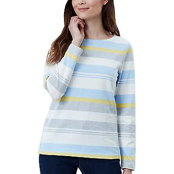 Joules mujeres Puerto manga larga Relaxed Fit Fashion Top