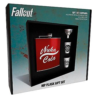 Fallout Official Nuka Cola Hip Flask Gift Set