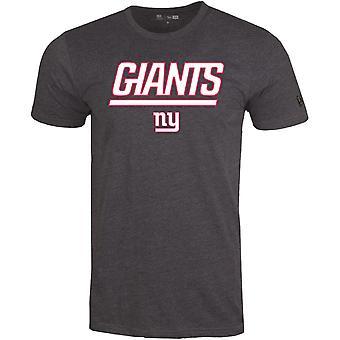 New Era STACK LOGO Shirt - NFL New York Giants charcoal