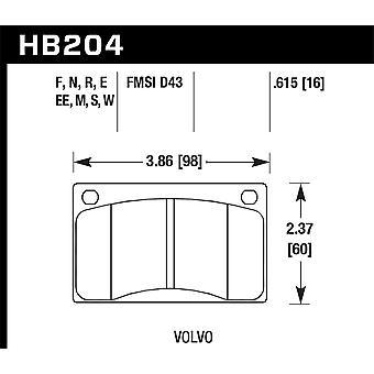 Hawk Performance HB204N. 615 HP plus
