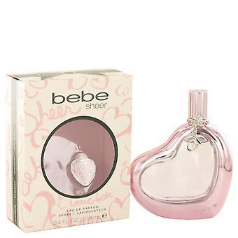 Bebe sheer eau de parfum spray by bebe 482776 100 ml