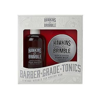 Hawkins & Brimble Beard Darčeková sada (šampón na bradu & balzam)
