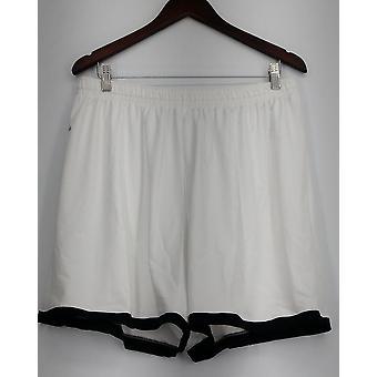Holloway Plus Pantaloncini (XXL) Drawstring Elastic Waist Stretch Maglia Bianco