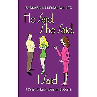 Il a dit, elle a dit, j'ai dit: 7 clés de la réussite de la relation
