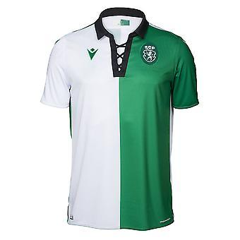 2019-2020 Sporting Lissabon autentiska Stromp match shirt