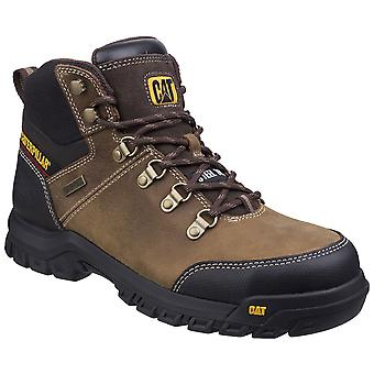 CAT Workwear Mens Framework Leather Steel Toe Safety Boots