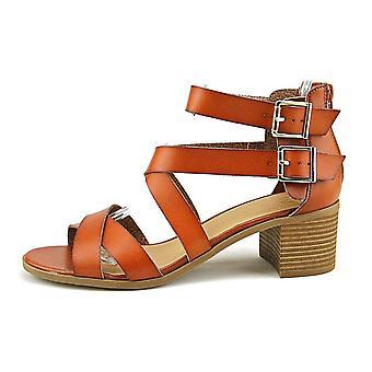 Material Girl naisten Kaldu avoimen rento Strappy sandaalit
