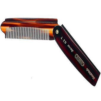Kent 82T Mens Folding Pocket Comb - Large