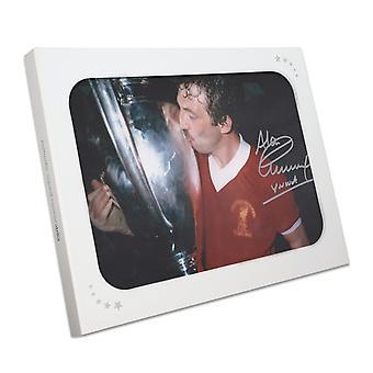 كينيدي ألن وقعت صور نادي ليفربول: كأس إبطال الأندية الأوروبية الفائز في مربع هدية