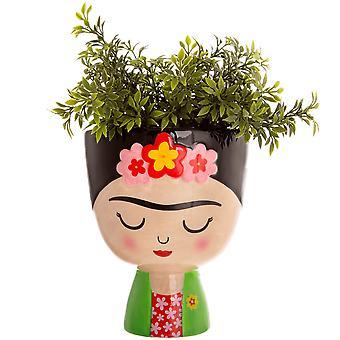 Sass & Belle Frida Kahlo vilkas planter