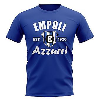إمبولي أنشأت كرة القدم تي شيرت (الأزرق)