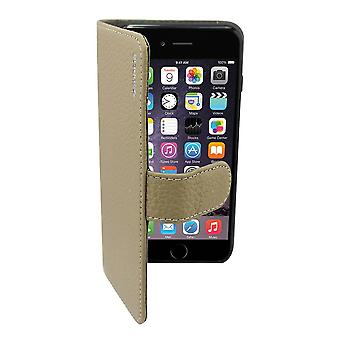 Suncia Leather5 Case for Apple iPhone 6 Plus Grey