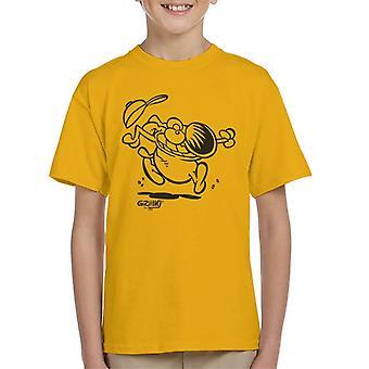 Grimmy Crazy Jump Kid's T-Shirt