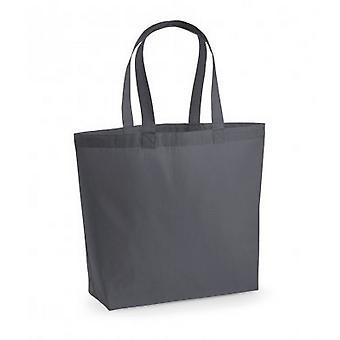 Westford Mill Premium Cotton Maxi Tote Bag (förpackning med 2)