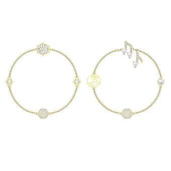 Swarovski Armband geflochtene Frau Plated_Gold - 5512383
