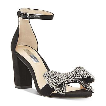 INC International Concepts Womens Kivah Fabric Open Toe Special Occasion Ankle Strap Sandals