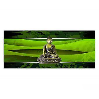 Painel de Deco, Buddha no verde