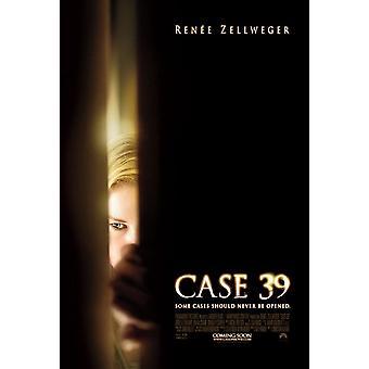 القضية 39 ملصق (رينيه زيلويغر) مقدما من جانب واحد (2010) ملصق السينما الأصلي