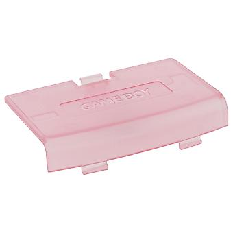 Replacement battery cover door for nintendo game boy advance - clear pink