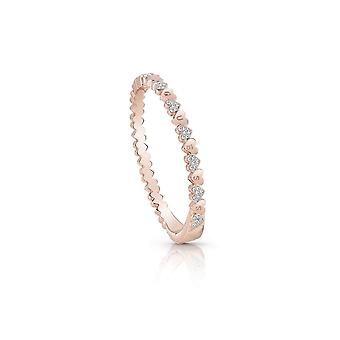 Guess Jewellery Guess Rose Gold Plated Multiple Small Hearts Bangle Bracelet UBB85106-L