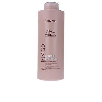 Wella Invigo loira recarga cor refrescante shampoo 1000 ml unisex