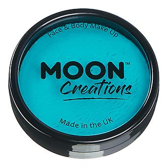 Moon Creations - Pro Face & Body Paint Cake Pots - Türkis