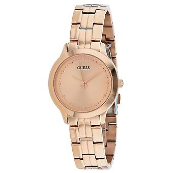 Guess Women's Chelsea Rose gold Dial Watch - W0989L3