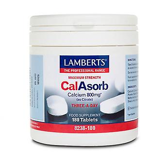 Lamberts CalAsorb Calcium 800mg Tablets 180 (8238-180)