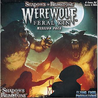 Shadows of Brimstone Werewolves - Mission Pack