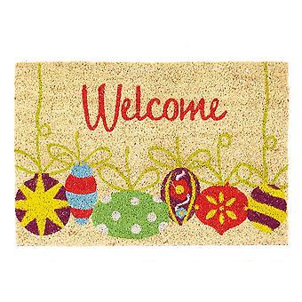 Christmas Shop Welcome Doormat