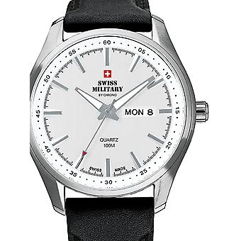 Swiss Military SM34027.06 Hommes 44mm 10ATM