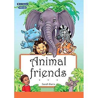 Djur vänner genom illustrerad av Sarah Davis