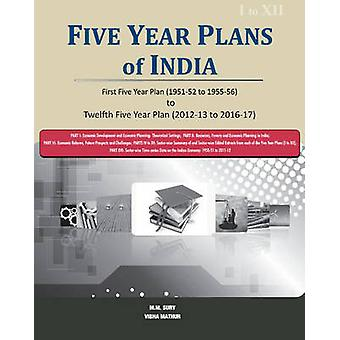 Five Year Plans of India  3 Volume Set by M M Sury
