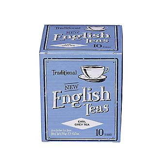 Vintage earl grey tea 10 teabag carton