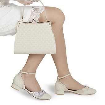 Ruby Shoo Women's Art Deco Low Heel Patricia Shoe & Matching Toulouse Bag