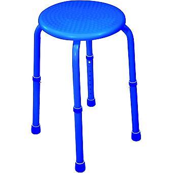 Aidapt douchekruk max 120 kg - blauw