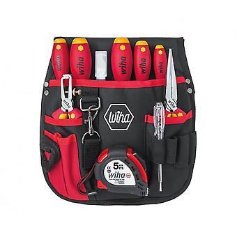 Wiha Tools Starter Electricians Tool Kit (10 Piece), 1000V VDE