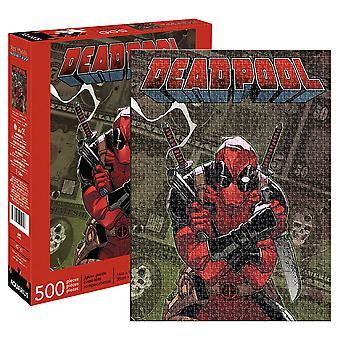 Marvel Deadpool Cover 500Pc pussel