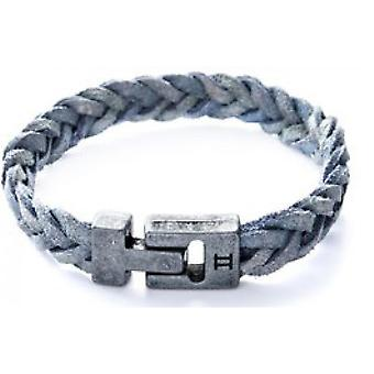 Gemini S13 - mixed Leather Bracelet bracelet