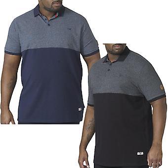 Duke D555 Mens Stefhen Big Tall King Size Short Sleeve Cotton Polo Shirt Tee Top