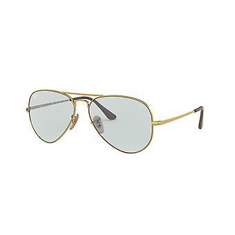 Ray-Ban RB3689 001/T3 Guld/Ljusblå fotokromiska solglasögon