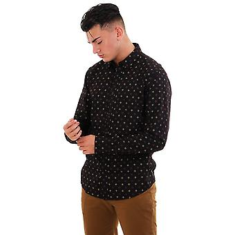Scotch & Soda All Over Printed Classic Ls Shirt