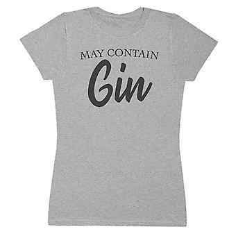 May Contain Gin - Womens T-Shirt