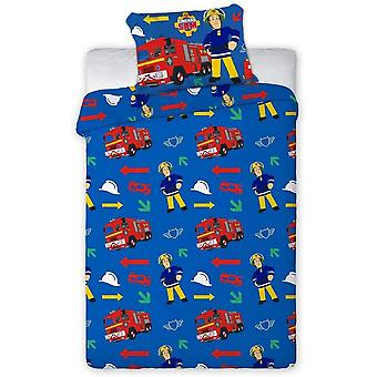 Fireman Sam Childrens/Kids Duvet Set