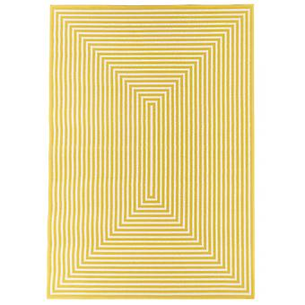 Outdoor carpet for Terrace / balcony yellow vitaminic braid yellow 160 / 230 cm carpet indoor / outdoor - for indoors and outdoors